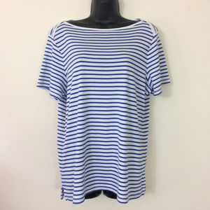 Tommy Bahama Striped Boat Neck Top